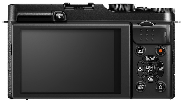 FujiFilm X-M1 Digital Camera - back