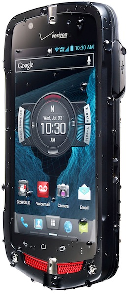 Casio G'zOne Commando 4G LTE Smartphone