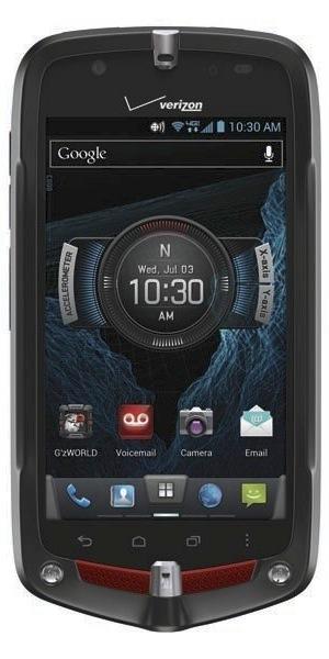 Casio G'zOne Commando 4G LTE Smartphone - front