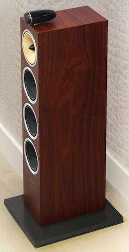 Bowers & Wilkins CM10 Floorstanding Speaker - Rosenut