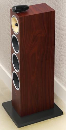 Bowers & Wilkins CM10 Floorstanding Speaker - Rosenut