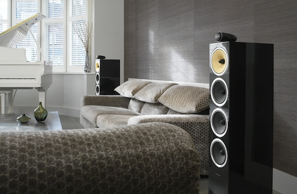 Bowers U0026 Wilkins CM10 Floorstanding Speaker   Living Room