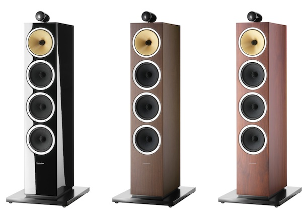 Bowers & Wilkins CM10 Floorstanding Speaker - finishes