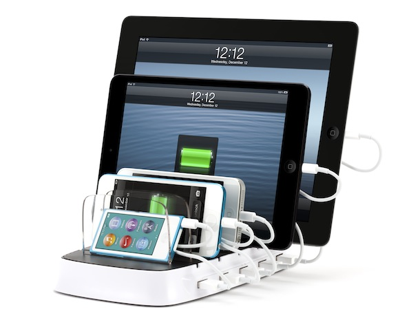 Griffin PowerDock 5 Charging Five iOS Devices