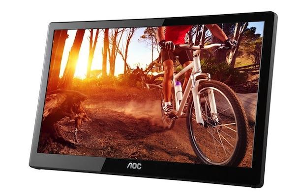 AOC E1659FWU USB Monitor