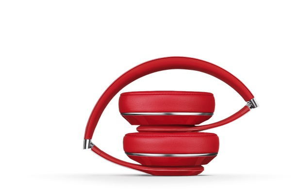 Beats Studio Red Headphone folded 2013 model