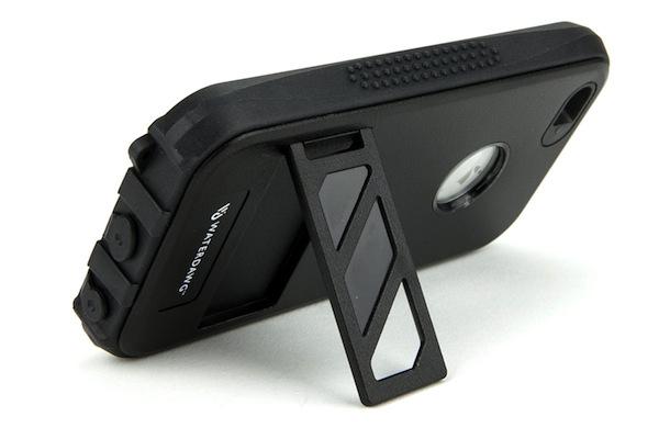 Waterdawg Wetsuit iPhone 5 Waterproof Case Back