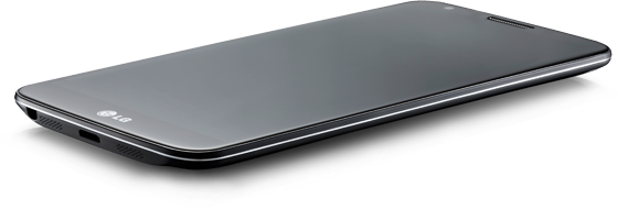 LG G2 Smartphone flat