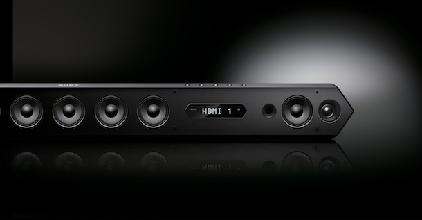 Sony HT-ST7 Sound Bar Front
