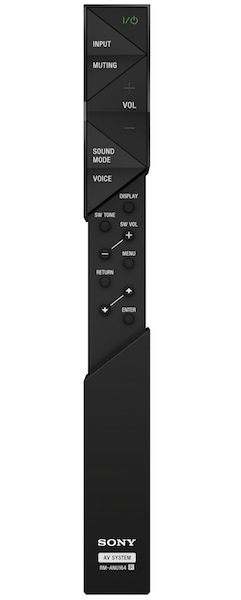 Sony HT-ST7 Sound Bar Remote