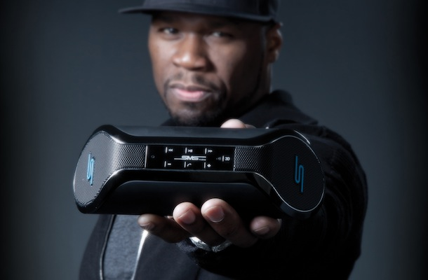 SMS Audio SYNC by 50 Wireless Speaker with Curtis Jackson