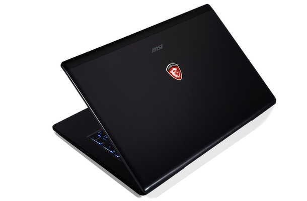 MSI GS70 Gaming Notebook Back