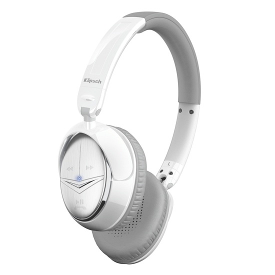 Klipsch Image ONE Bluetooth White On-Ear Headphones