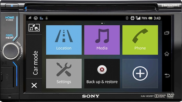 Sony XAV-602BT Head Unit