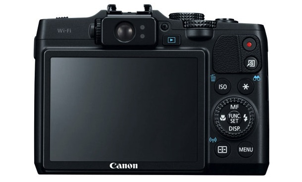 Canon PowerShot G16 Digital Camera Back