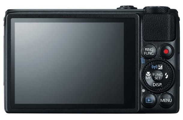 Canon PowerShot S120 Digital Camera Back