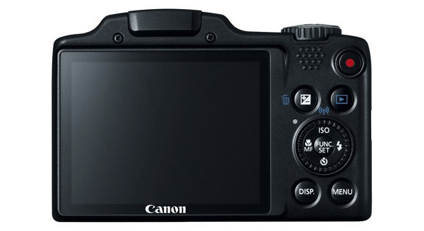 Canon PowerShot SX510 HS Digital Camera Back