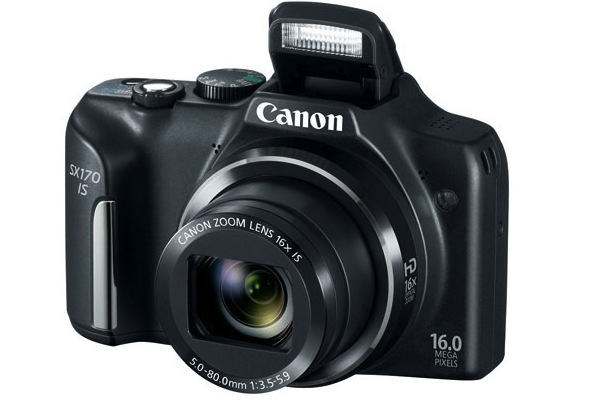 Canon PowerShot SX170 Digital Camera