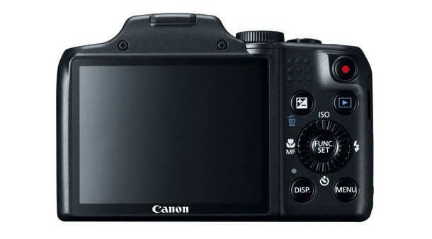 Canon PowerShot SX170 Digital Camera Back
