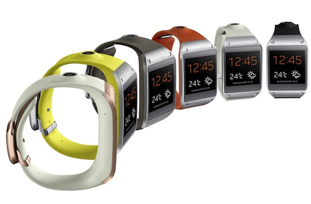 Samsung Gear Smartwatch Colors