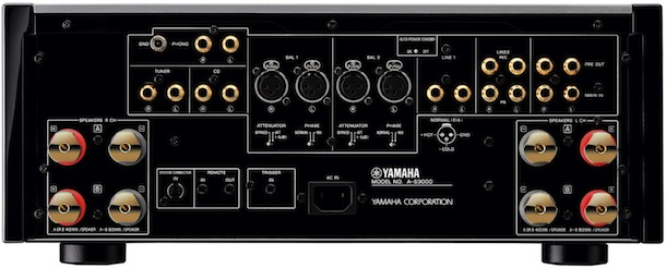 Yamaha A-S3000 Integrated Amplifier - Back