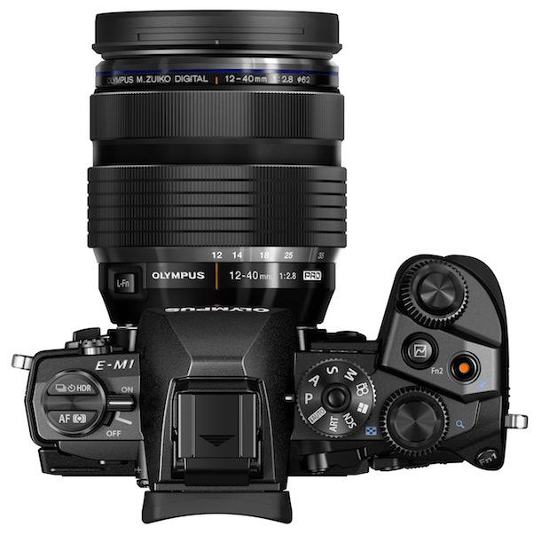 Olympus OM-D E-M1 Digital Camera Top