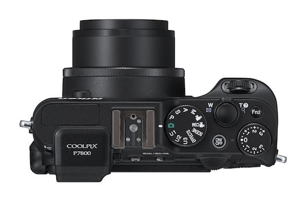 Nikon P7800 Digital Camera Top