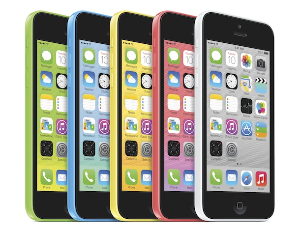 Apple iPhone 5c Smartphone Colors
