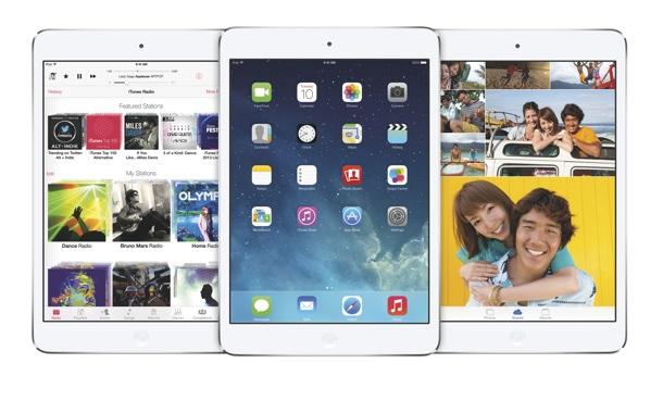 Apple iOS7 on iPad mini