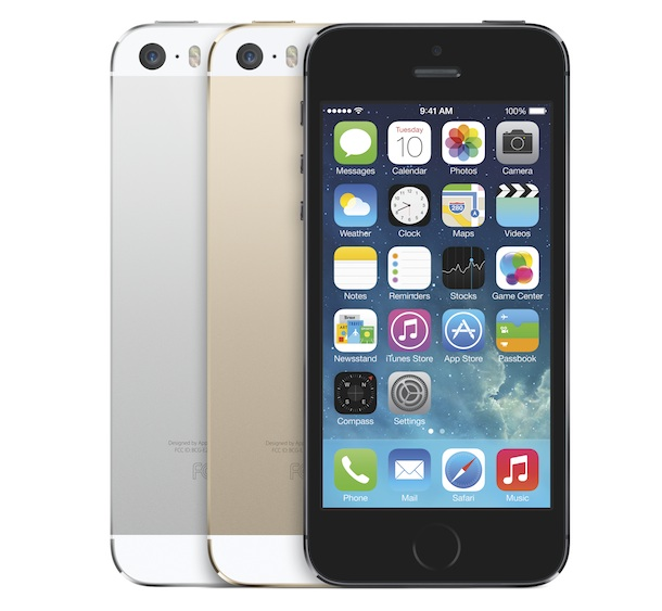 Apple iPhone 5s black, silver, gold
