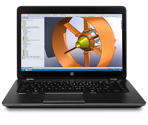 HP ZBook 14 Mobile Workstation Front
