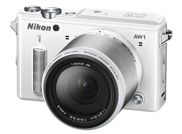 Nikon 1 AW1 Digital Camera White