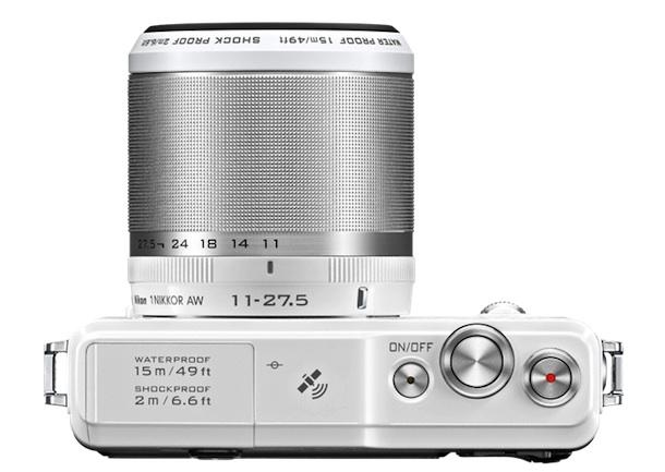 Nikon 1 AW1 Digital Camera Top