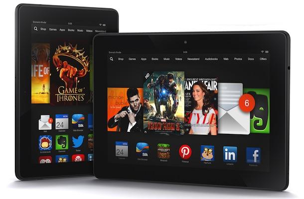 Amazon Kindle Fire HDX Tablets