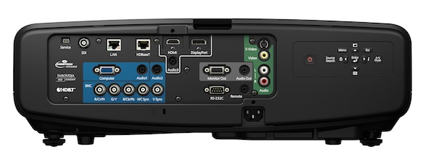 Epson PowerLite Pro Cinema G6900WU Projector Rear