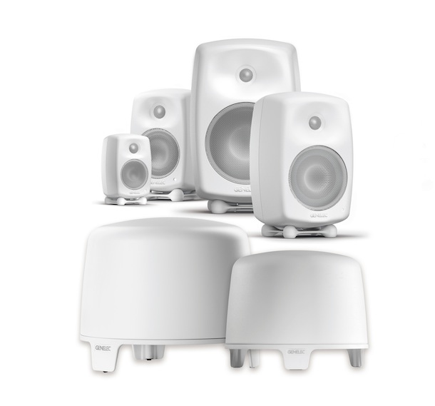 Genelec G and F Series Loudspeakers and Subwoofers