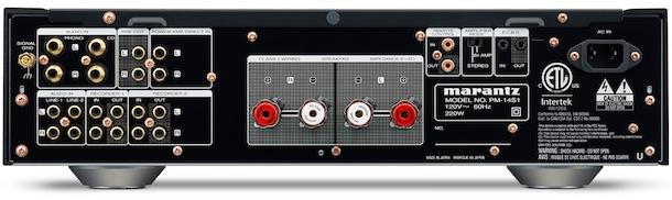 Marantz PM-14S1 Integrated Stereo Amplifier Back