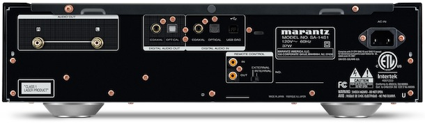 Marantz SA-14S1 Super Audio CD Player and DAC Back