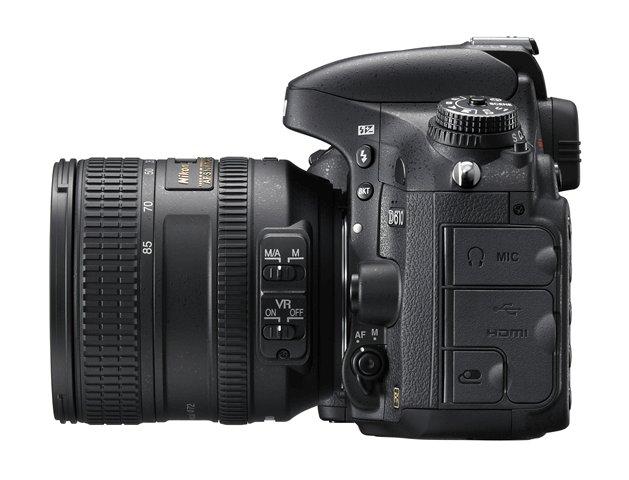 Nikon D610 DSLR Camera Left