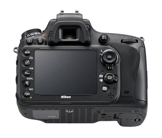 Nikon D610 DSLR Camera Back