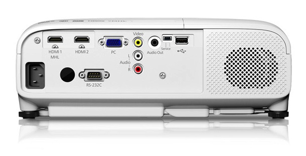 Epson PowerLite Home Cinema 2000 3LCD Projector Back