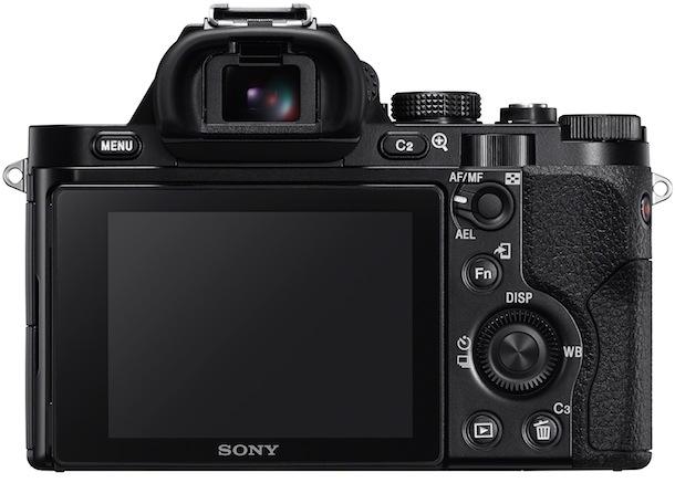 Sony ILCE-7 Rear
