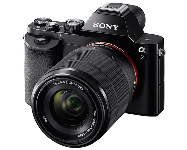 Sony Alpha a7 with SEL2870 Lens