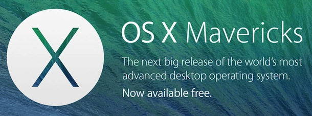 Apple OS X Mavericks Free