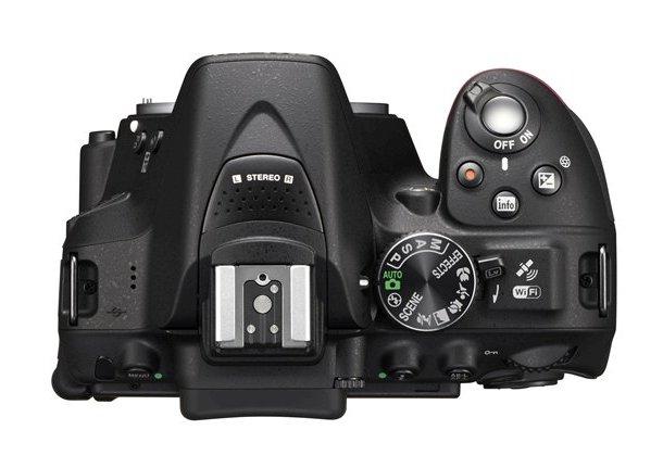 Nikon D5300 DSLR Camera Top