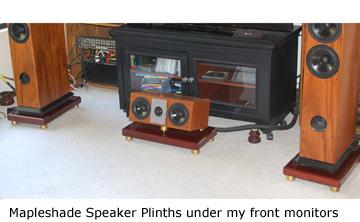 Mapleshade Speaker Pliths