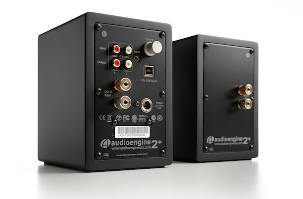 Audioengine A2+ Powered Desktop Speakers Back in Black