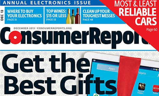 Consumer Reports December 2013