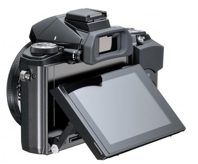 Olympus STYLUS 1 Digital Camera LCD Up