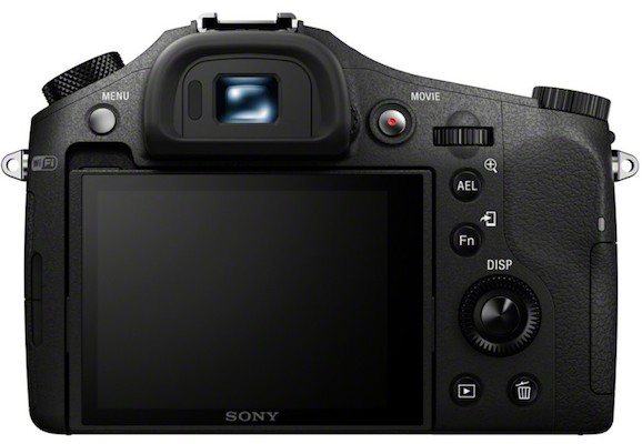Sony DSC-RX10 Cyber-shot Digital Camera Back